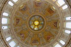 Bóveda mágica de Berlin Cathedral Fotos de archivo