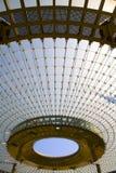 Bóveda moderna del vidrio de la configuración Foto de archivo