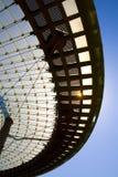 Bóveda moderna del vidrio de la configuración Fotos de archivo libres de regalías