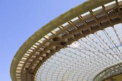 Bóveda moderna del vidrio de la configuración Fotos de archivo
