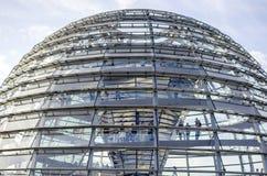 Bóveda Reichstag, Berlín alemania Fotografía de archivo libre de regalías