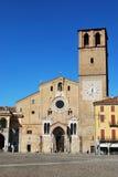 Bóveda romance en Lodi, Italia Imágenes de archivo libres de regalías