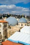 Bóveda santa de la iglesia del sepulcro en Jerusalén Foto de archivo libre de regalías