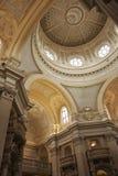 Bóveda y arcos, Venaria Reale, Turín Fotografía de archivo libre de regalías
