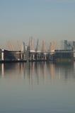 Bóveda y Docklands Fotografía de archivo libre de regalías