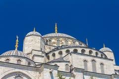 Bóvedas azules de la mezquita Foto de archivo