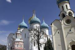 Bóvedas de la foto de Sergiev Posad Imagenes de archivo