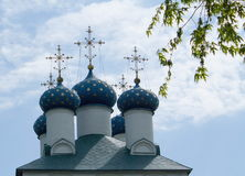 Bóvedas de la iglesia Fotografía de archivo libre de regalías