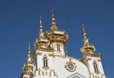 Bóvedas de oro Imágenes de archivo libres de regalías