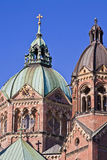 Bóvedas de St Luke Church en Munich Foto de archivo libre de regalías