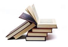 böcker en öppnade något Arkivfoto