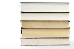böcker fem bunt arkivfoton