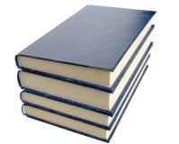 böcker fyra Royaltyfria Bilder