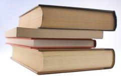 böcker fyra arkivbild