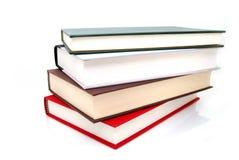 böcker fyra Arkivbilder
