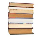 Böcker i profil Arkivbilder
