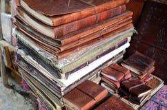 Böcker Indien Royaltyfri Fotografi