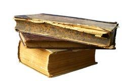 böcker isolerade gammalt Arkivfoto