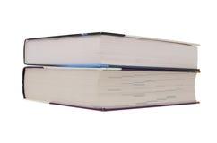 böcker isolerade white Arkivfoton