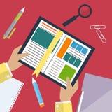 Böcker och skolaprocess Handstilteckning i zoshite Ämnen för kontorsprednadlezhnostistudie Dra tillbaka till vektor royaltyfri illustrationer