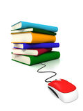 böcker online Arkivbilder