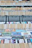 Böcker på bokmarknaden Fotografering för Bildbyråer