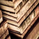 böcker staplade Fotografering för Bildbyråer