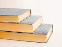 böcker tre Arkivbild