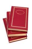 böcker tre Fotografering för Bildbyråer