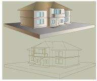 Böden des Landhauses zwei lizenzfreies stockbild