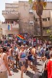 Bög Pride Parade Tel-Aviv 2013 Arkivbilder