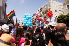 Bög Pride Parade Tel-Aviv 2013 Arkivbild