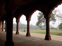 Bögen bei Taj Mahal Lizenzfreie Stockfotos