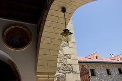 Bögen in Kykkos-Kloster Lizenzfreie Stockfotos