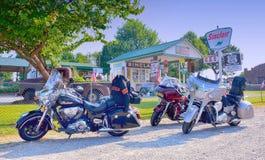 BögParita Sinclair bensinstation, en Route 66 legen Fotografering för Bildbyråer