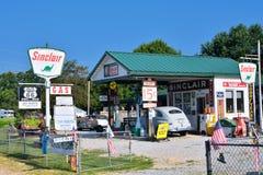 BögParita Sinclair bensinstation på Route 66 Royaltyfria Bilder