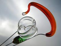Böhmisches Glas Stockfoto