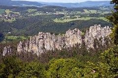 Böhmisches Paradies Lizenzfreies Stockfoto