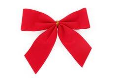böj röd jul Royaltyfri Bild