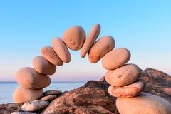 Böja av stenar Royaltyfria Foton