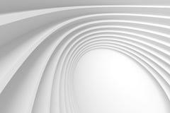 böjde abstrakt bakgrund för arkitektur 3d cell- latticern fyrkantig white Fotografering för Bildbyråer
