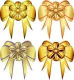 böjer den dekorativa setvektorn royaltyfri illustrationer