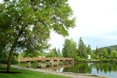 böjningsankaoregon park royaltyfria bilder