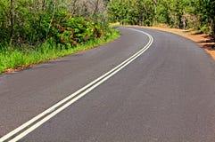 böjningsväg Arkivbild