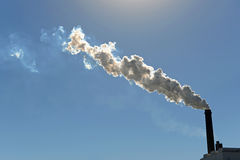 bölja röksmokestack Arkivbild