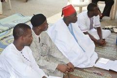 Bön på moskén Royaltyfri Foto