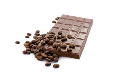 bönachokladkaffe Arkivbild