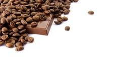 bönachokladkaffe Royaltyfria Bilder