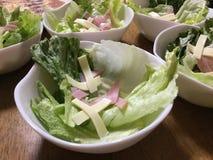 bönagurkor besegrar nya stekte vegetariska märgtomater Royaltyfri Bild