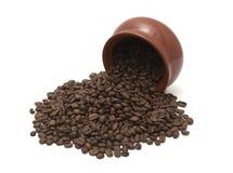 bönakaffekruka Fotografering för Bildbyråer